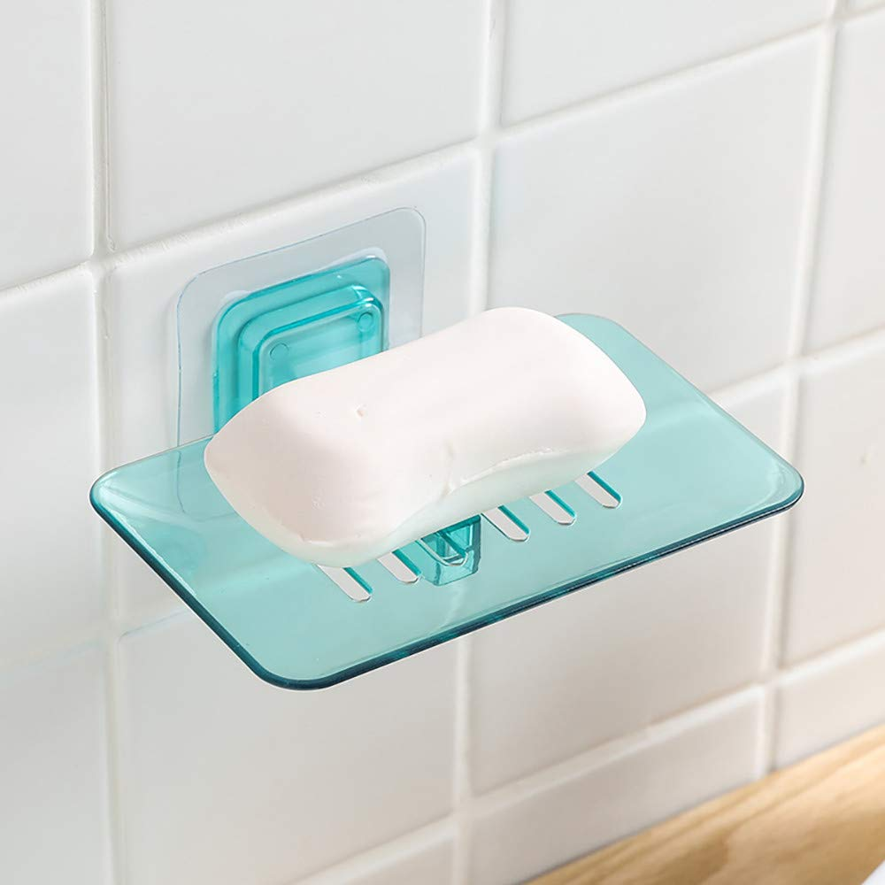 Soap Dish For Shower Self Adhesive Soap Holder Wall Mounted Bathroom