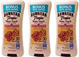 Cheap Hawaiian Tropic Sheer Touch Broad Spectrum Sunscreen Lotion, Ultra Radiance, SPF 30, 10.8 Ounce, (Pack of 3)