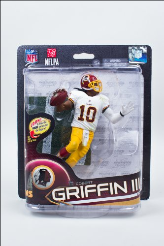 McFarlane Toys NFL Series 32 Robert Griffin III-Washington Redskins Action Figure