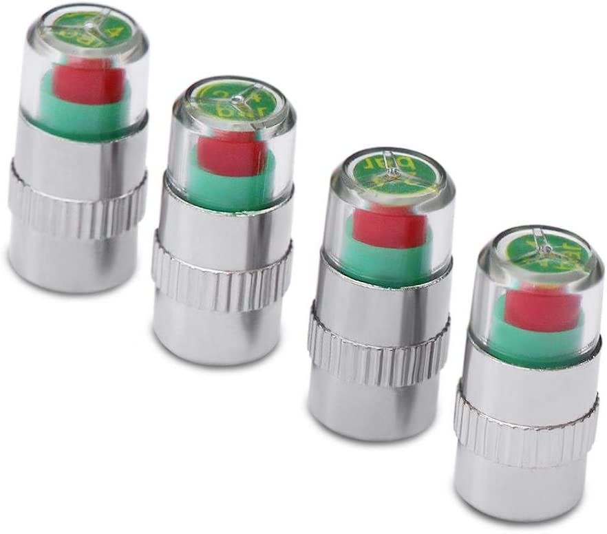 Car Tire Pressure Monitor Valve Stem Cap Sensor Indicator 3 Color Alert for Alfa Romeo 147 156 159 Alfetta Berlina Brera Mito