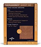 Medline MNK0082 TheraHoney HD Honey Dressings, 2'' x 2'' (Pack of 10)