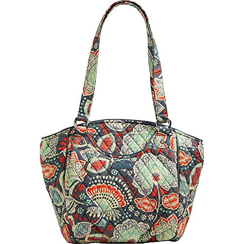 Solid Shoulder Nomadic Vera Signature Grey Floral Glenna Interior Bag Cotton Bradley With 7xxZRqz