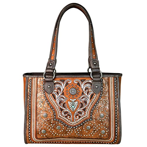 Montana West Handbags Western Concho Collection Tote Purses MW629-9220 - Concho Collection