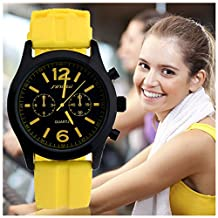 SINOBI Women Sports Rubber Watchband Watches, Waterproof Exercise Wristwatches Sale reloj de las mujeres