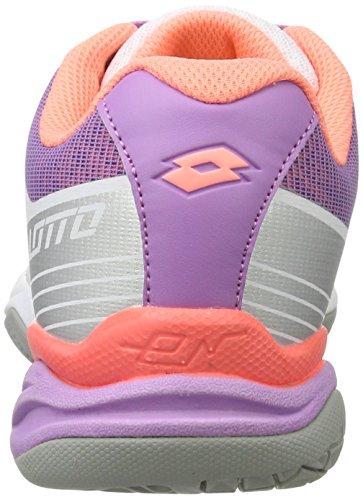 Lotto Esosphere Ii Alr W, Zapatillas de Tenis para Mujer Blanco (Wht/ros Neo)