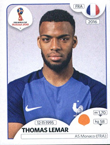 2018 Panini World Cup Stickers Russia #203 Thomas Lemar for sale  Delivered anywhere in USA