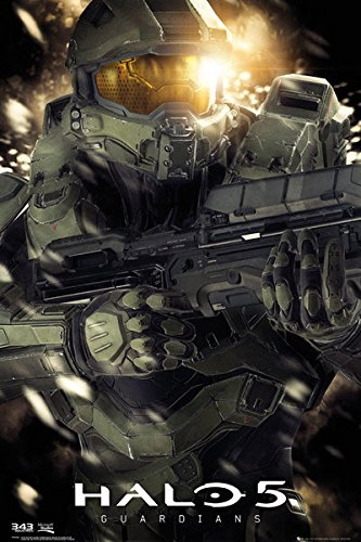 Halo 5: Guardians - Gaming Poster / Print Master Chief By Stop Online