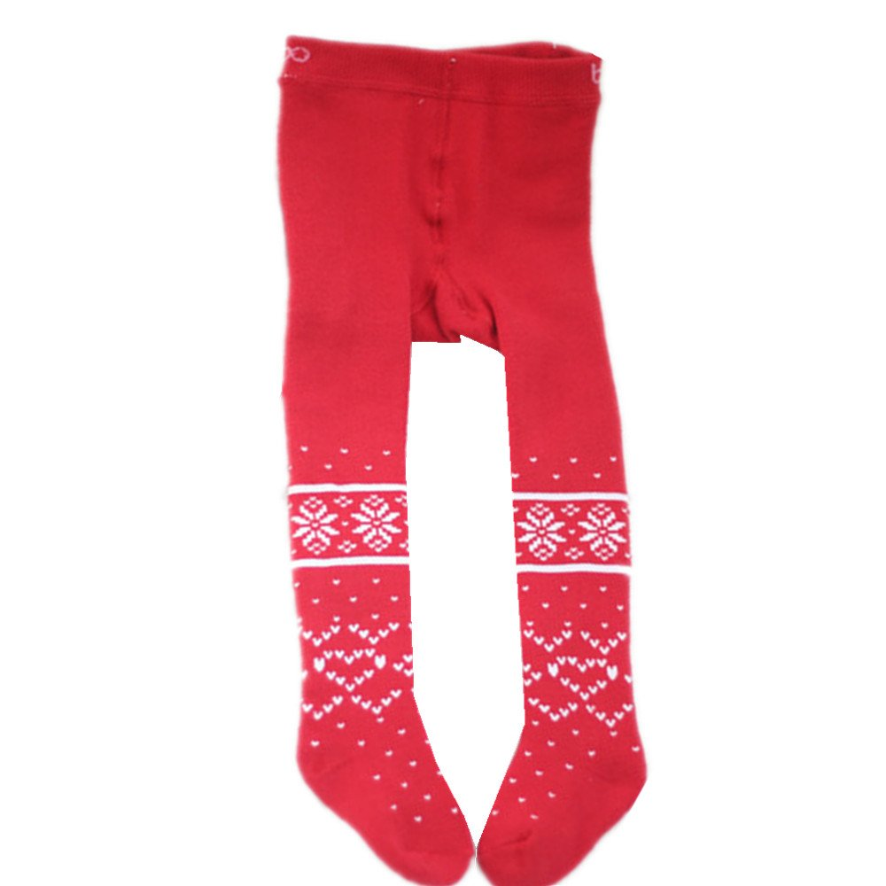 Ding-dong Baby Kid Girl Christmas Tights