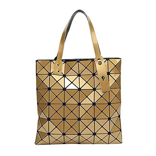 Personnalité Sac Bag Main à CY De La Sac De De Gold Géométrique à Femme Mode Pliant Bandoulière La HOqPPn5