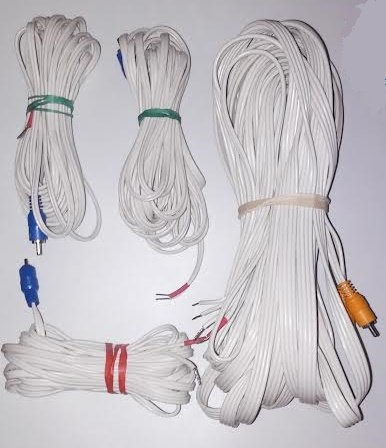 Bose Lifestyles Acoustimass Speaker Wire 5 Set White 2-50' 3