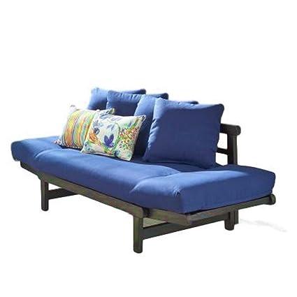 Amazon.com: Exterior Sofá tumbona reclinable Patio sofá ...