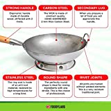 Wok Pan with Ring – Woks and Stir Fry Pans for