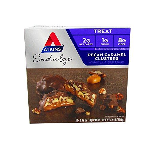 Atkins Endulge (Pecan Caramel Clusters, 3 Pack)