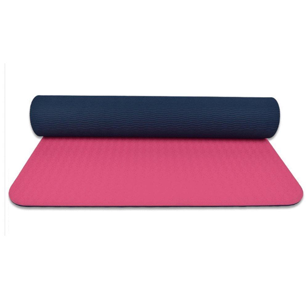BINLIU Anti-Rutsch-TPE-Pad Yoga-Matte Yoga-Matte TPE Nicht-toxische Yoga-Matte 183cm  65cm,C
