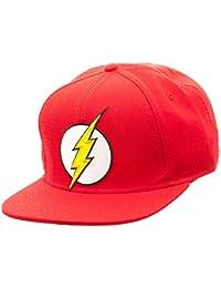 wholesale dealer 4c145 58f80 Flash Logo Snapback Cap Hat New Licensed New DC Comics