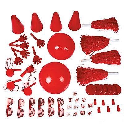 (School Spirit Assortment - Red)