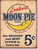 Moon Pie Best Lunch Tin Sign 13 x 16in