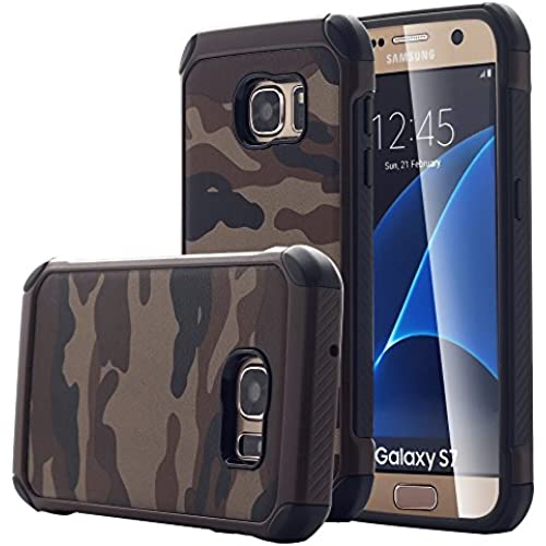 Galaxy S7 Case, Pandawell [Camo Series] Hybrid High Impact Shock Absorption Dual Layer Army Camouflage Armor Defender Case Cover for Samsung Galaxy S7 Sales