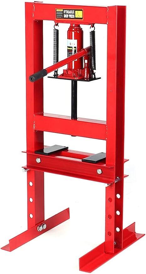 Capacit/é de Charge de 6 Tonnes Support de R/éparation d/'Atelier Outil de Pressage Professionnel pour Garage Atelier Presse Hydraulique