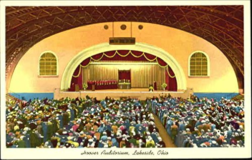 Hoover auditorium lakeside ohio original vintage postcard at hoover auditorium lakeside ohio original vintage postcard publicscrutiny Image collections