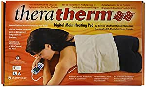 "Chattanooga Theratherm Digital Moist Heating Pad, Large/Standard (14"" x 27"")"
