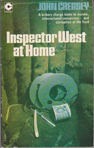 book cover of Inspector West at Home