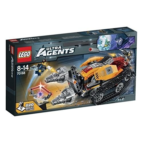 RARE LEGO Ultra Agents Drillex Diamond Job Building Toys 70168 Japan