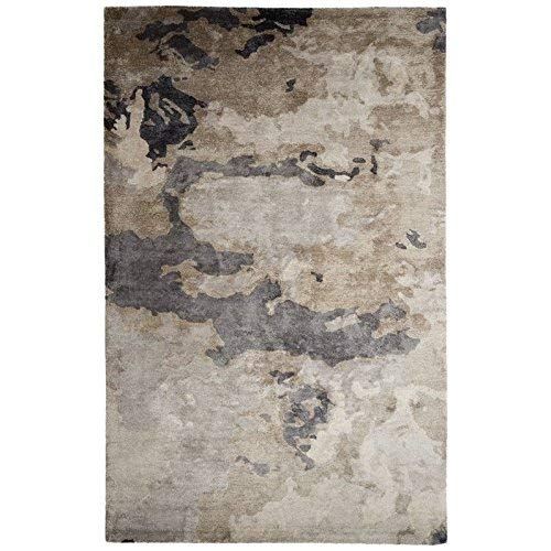 "Jaipur Living Glacier Handmade Abstract Gray/Silver Area Rug (7'10""X9'10"") from Jaipur Living"