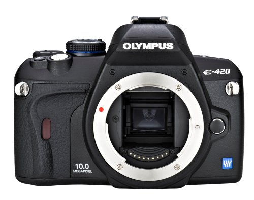 Olympus Evolt E420 10MP Digital SLR Camera (Body Only) ()