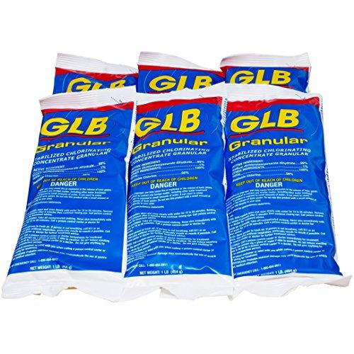 GLB Granular Chlorine (1 lb) (6 Pack)