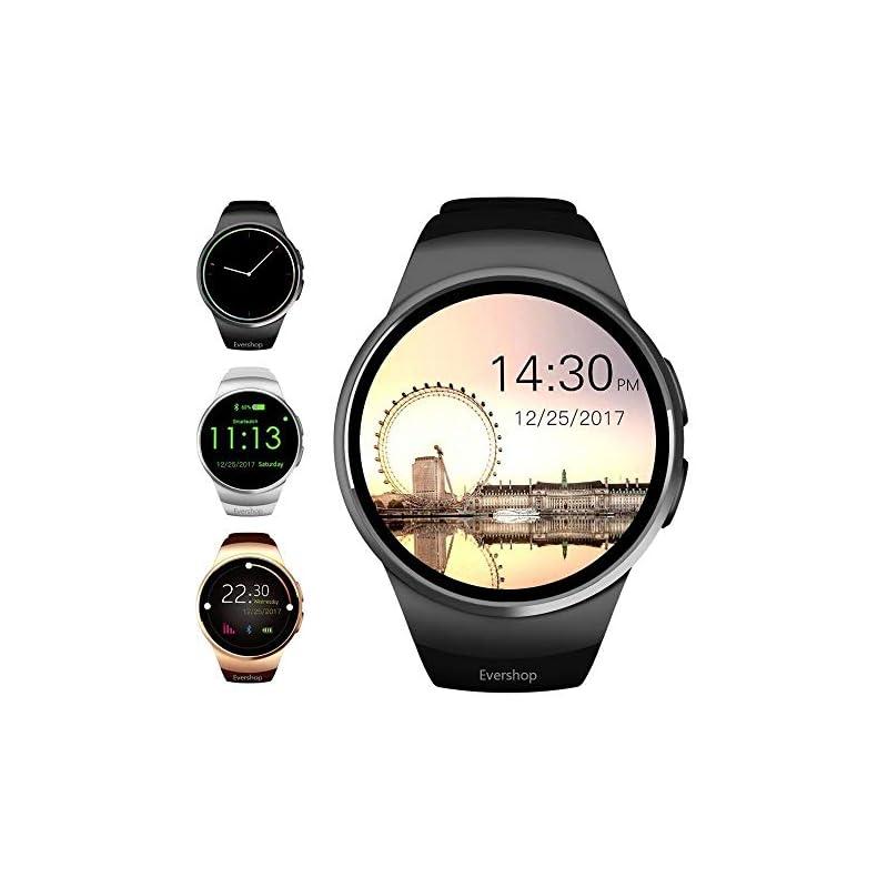 Evershop Smart Watch 1.5 inches IPS Roun