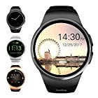 Evershop Bluetooth Smart Watch 1.5 inches IPS Round Touch Screen Water Resistant Smartwatch