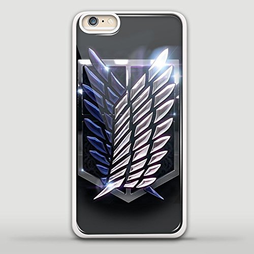 Wings Freedom Logo Attack on Titans Art for Iphone and Samsung Case (iphone 5/5s white)