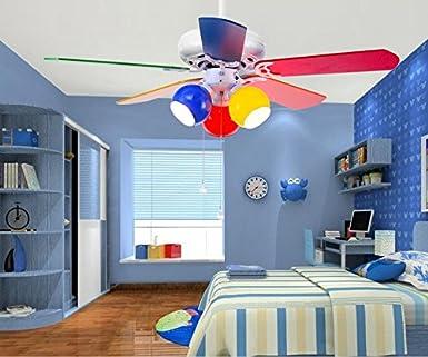 La habitación de los niños lámparas de ventilador, ventilador de ...