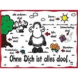 Ravensburger 15321 - Sheepworld: Ohne dich ist alles doof - 1000 Teile Puzzle