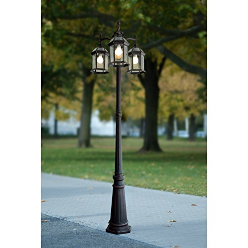 Portfolio Outdoor Lamp Post Light Pole Garden Yard