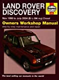 Land Rover Discovery Diesel Service and Repair Manual: 1998 to 2004 (Haynes Service and Repair Manual by Martynn Randall (2007-05-03)