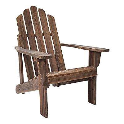Shine Company Marina Rustic Adirondack Chair