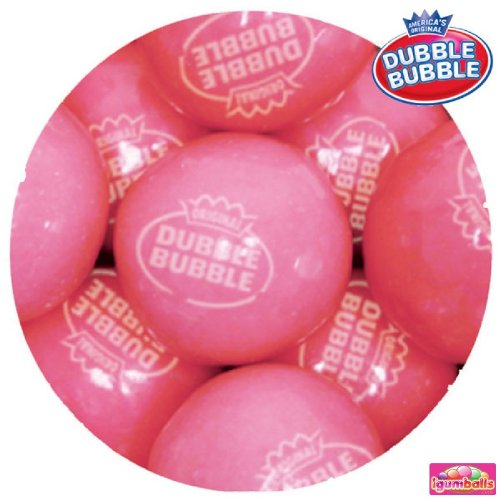 Dubble Bubble Pink Lemonade Gumballs, 10LBS (Gumballs Lemonade)