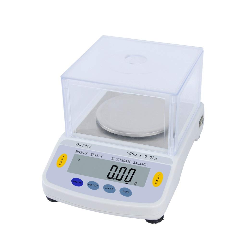 High Precision Laboratory Analytical Balance, Electronic Scales 0.01g Kitchen Scales Suitable for Laboratories,Kitchens,Jewelry Stores (Size : 500gx0.01g) by JKFZD