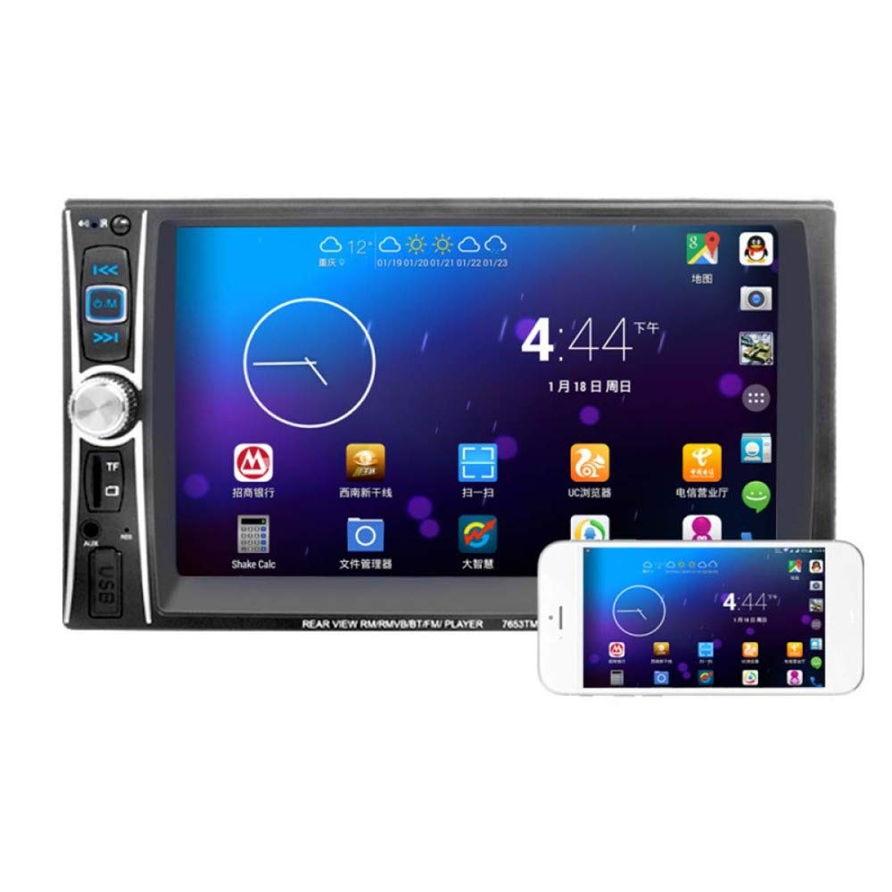 XIAOYUB 6.6'' HD car MP5 Player Bluetooth Hands-Free Reverse Priority Mobile Phone Internet Card Lnsertion Machine