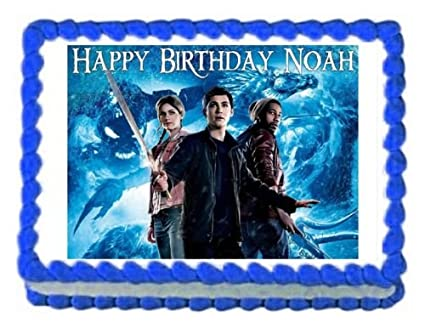 Amazon Com Percy Jackson And The Sea Of Monsters Edible Cake Image