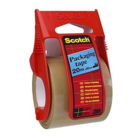1 Pack C5020EU Scotch Ruban adh/ésif sur un distributeur de marche Marron 50 mm x 50 m