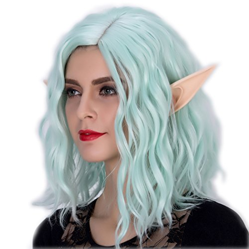 (Alacos Large Anime Manga Elf Fairy Cosplay Ears Tips Costume Party Latex Painted)