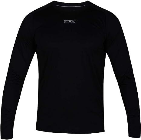50 UPF Rashguard Sunshirt T-Shirt Hombre Hurley Dri-fit Long Sleeve Sun Protection