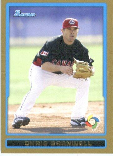Chris Barnwell - Canada (World Baseball Classic) 2009 Bowman Draft GOLD WBC Prospects Baseball Card # BDPW16 - MLB Baseball Trading Card