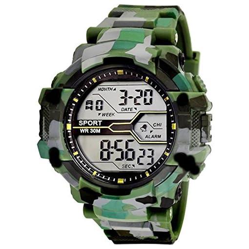 Seagull Fashion Digital Grey Dial Men's & Boy's Watch - Sgw-80