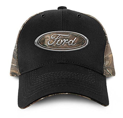 (Buck Wear Ford Chrome Logo Hat, Multicolor, One Size)
