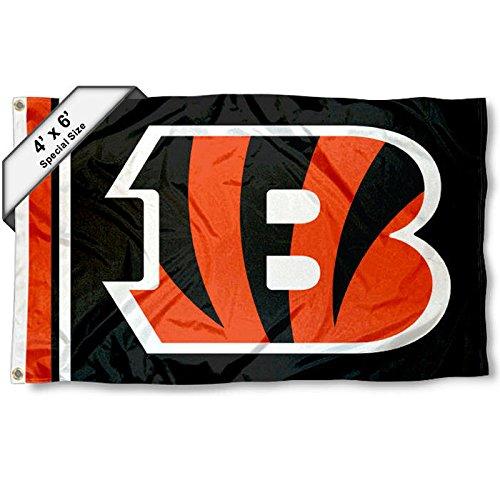 Cincinnati Bengals 1.2m x 1.8m Flag   B01N7NUN29
