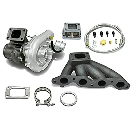 High Performance Upgrade T04E T3 T25 4pc Turbo Kit - 4A-GE Engine